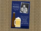 Guy Birthday Invitations Items Similar to Men 39 S 30th Birthday Invitation Beer
