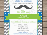 Guy Birthday Invitations Mustache Party Invitations Little Man Party Birthday Party
