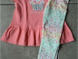 Gymboree Birthday Girl Dress Size 2t 2 Years Outfit Gymboree Birthday Girl Peplum top