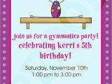 Gymnastics Birthday Invitation Templates Free Printable Gymnastic Birthday Invitations Updated
