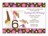 Gymnastics Birthday Party Invitations Printable Gymnastic Birthday Invitations Bagvania Free Printable