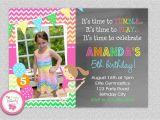 Gymnastics themed Birthday Invitations Gymnastics Birthday Invitation Gymnastics Birthday Party