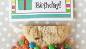 Half Birthday Cards Free Half Birthday Class Gift with Free Printable Bag topper