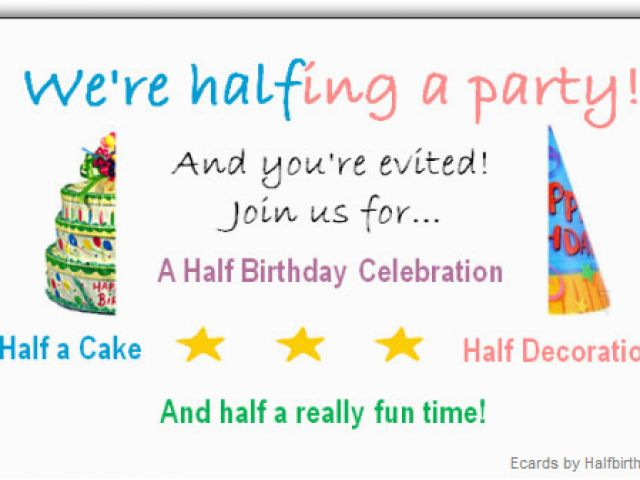 Download By SizeHandphone Tablet Desktop Original Size Back To Half Birthday Cards Free