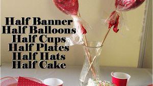 Half Birthday Decorations Diy Half Birthday Party