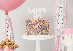 Half Birthday Decorations Kara 39 S Party Ideas Little Sprinkles Half Birthday Party