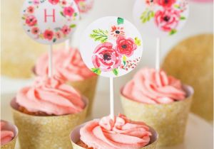 Half Birthday Decorations Kara 39 S Party Ideas Pink Gold Half Birthday Party Kara