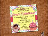 Half Birthday Invitation 13 Best Images About Half Birthday On Pinterest Half