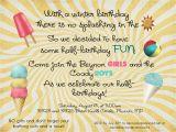 Half Birthday Invitation Cupcakes and Lemonade Summer Celebration