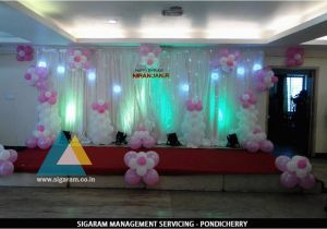 Hall Decorating Ideas for Birthday Party Birthday Party Decoration at Thalapathy M K Stalin Hall