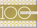 Hallmark 100th Birthday Card Hallmark 100th Birthday Greeting Card Circle Pattern