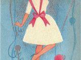 Hallmark E Birthday Cards Funny Vintage Hallmark 1960s Say Sister Birthday Greetings Card