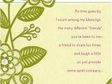 Hallmark Friend Birthday Cards Friendship is A Blessing Birthday Card Greeting Cards