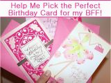 Hallmark Friend Birthday Cards Help Me Pick the Perfect Hallmark Birthday Card for My Bff