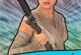 Hallmark Star Wars Birthday Cards Star Wars Rey Awesome Girl Birthday Card Greeting