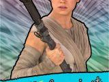 Hallmark Star Wars Birthday Cards Star Wars Rey Awesome Girl Birthday Card Greeting