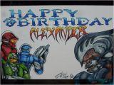 Halo Birthday Card Halo Birthday Card In Marker by Sdmfukr On Deviantart
