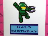 Halo Birthday Card Zo Zo Tings Halo 39 Master Chief 39 Birthday Card