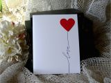 Handmade Birthday Cards for Boyfriend with Love Handmade Greeting Card Handmade Card Heart Love Note Love