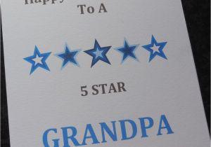 Handmade Birthday Cards For Grandfather Personalised Card Dad Grandad Grandpa