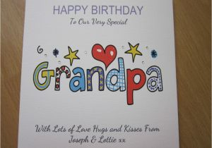Handmade Birthday Cards For Grandfather Personalised Card Grandpa 60th 65th