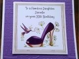 Handmade Birthday Cards for Sister In Law Handmade Personalised Birthday Card Shoe Sister In Law