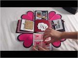 Handmade Birthday Gifts for Husband Diy Handmade Gift for Boyfriend Explosion Box