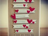 Handmade Birthday Gifts for Husband From Wife Anniversary Card I Made the Hubby Wedding Anniversary