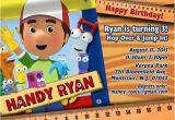 Handy Manny Birthday Invitations Handy Manny Birthday Invitations Handy Manny Birthday