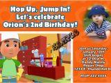 Handy Manny Birthday Invitations Handy Manny Birthday Invitations