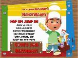 Handy Manny Birthday Invitations Handy Manny Party Invitations top Party themes