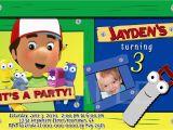 Handy Manny Birthday Invitations Handy Manny Personalized Birthday by Pinkskyprintables On Etsy