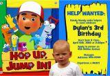 Handy Manny Birthday Invitations Personalized Handy Manny Photo Birthday Invitation Ebay