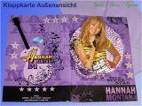 Hannah Montana Birthday Card Disney Hannah Montana 3d Folding Card Congratulations
