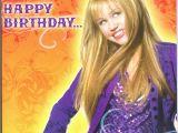 Hannah Montana Birthday Card Happy Birthday Hannah Montana