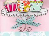 Hapoy Birthday Cards Cupcakes Pretty Happy Birthday Greeting Card Cards