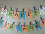 Happy 1/2 Birthday Banner Make Your Own Birthday Pennant Banner A Sparkle Of Genius