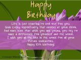 Happy 10th Birthday son Quotes Best Birthday Wishes 365greetings Com