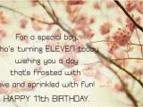 Happy 11th Birthday son Quotes 11th Birthday Wishes Birthday Messages for Eleven Year Old