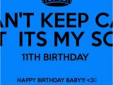 Happy 11th Birthday son Quotes Birthday son Quotes Baby Quotesgram