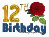 Happy 12th Birthday Quotes top 20 12th Birthday Wishes Greetings Quotes Happy