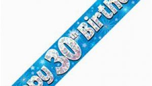 Happy 13th Birthday Banner Blue Back In Stock