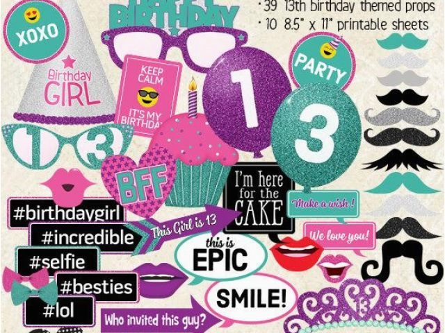 Download By SizeHandphone Tablet Desktop Original Size Back To Happy 13th Birthday Decorations
