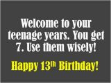 Happy 13th Birthday Quotes Funny Happy 13th Birthday Daughter Quotes Just B Cause