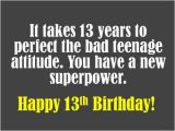 Happy 13th Birthday to My son Quotes 13th Birthday Wishes What to Write In A Card Holidappy