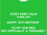 Happy 13th Birthday to My son Quotes Happy 13th Birthday son Related Keywords Happy 13th