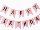 Happy 16th Birthday Banner Pink Giebakes L Customised Dessert Table and Cakes Singapore