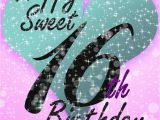 Happy 16th Birthday Daughter Quotes Sweet 16 Free Birthday Card Greetings island