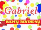 Happy 16th Birthday son Banner Happy Birthday Gabriel song Youtube