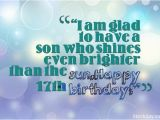 Happy 17th Birthday Wishes Quotes Sweet 17 Birthday Wishes and Messages with Images
